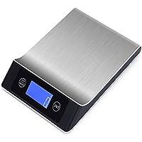 Yogogo Cyber Monday Deals&Christmas,La Mesure d'échelle de Cuisine de Balance de 5kg / 1g Digital utilise Le Poids électronique d'acier Inoxydable
