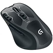 Logitech G700s - Ratón Gaming inalámbrico, color negro