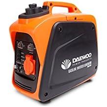 Daewoo Electronics GIDA1000SI Generador Inverter A Gasolina, Negro / Naranja
