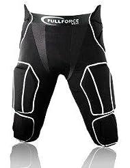 Full Force american football pantalon 7Pocket avec 7Pads cousues, noir, Taille S–3x l
