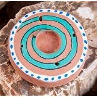 Berg Kegel- und Stäbchenhalter Spirale aus Ton, ca. 5,5 cm preisvergleich bei billige-tabletten.eu