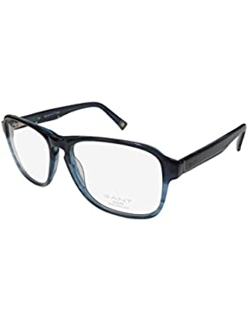 GANT RUGGER Brillengestell GR HOLLIS Blau/Horn 54MM