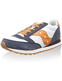 innovative design 1ba1f 742c8 SAUCONY ORIGINALS Sneaker Jazz Original Boys Bianco Blu Navy Arancione EU  36 (US