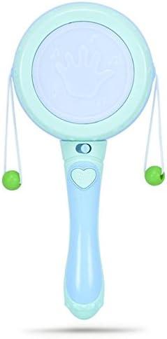 Gperw Jouet pour  s Bébé Multifonctionnel Rattle éducatif Rattle Multifonctionnel Musique Light Wave Jouet à Tambour (Bleu Clair) B07HDLR5JL a61f8c