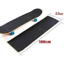 StickersLab-bandes adhésives pour revêtement antidérapant/snowboard Noir skateboard 230 mm-Longueur : 1 m x 230 mm 5-1 m