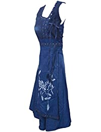 Jyoti Fancy Women's Denim Kurti,denim Frock Style Kurti For Ladies/women/girls