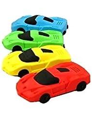 "Gomme Supprimer Stationery Gomme voiture étudiant Papeterie Learning Supplies Prix 5.6X2.9X1.2CM/2.20X1.14X0.47""10PCS"
