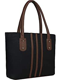 Brisfine Black Handbags for Women and Girls | Shoulder bags