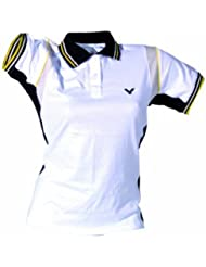 VICTOR 673/9/6 - Polo para mujer, color (Weiß), talla M