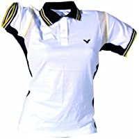 Victor 673/9/4 - Polo para mujer, color (Weiß), talla XS