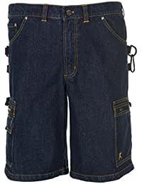 "Planam Shorts ""Dark Denim"", 1 Stück, Größe L, dunkelblau, 6340052"