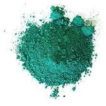 pigmento puro per artisti verde smeraldo