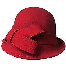 Sunny Cappello Cappelli di Feltro A Cloche da Donna Cappelli della Benna  British Fashion Casual Bombetta 7b28ec2a8e5b