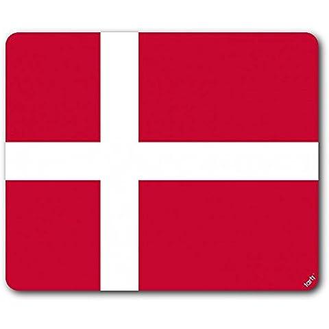 Danimarca - Bandiere Del Mondo Tappetino Per Mouse (23 x 19cm)