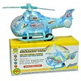 Party Nasha Musical Aircraft Toy,Battery Operated Helicopter With Beautiful Attractive Flashing Lights And Realistic Sounds, Bump And Go Action Toys, Available In 3 Different Sizes (Medium)