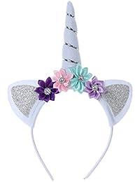 Vellette Crown Halloween Headband Costume Antlers Reindeer Christmas Headband for Holiday