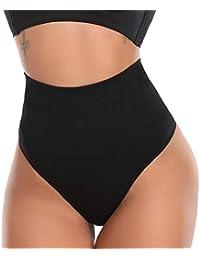 512a5bec271 SLIMBELLE Thong Tummy Control Panties Knickers Underwear Body Shaper  Shapewear Seamless Butt Lifter High Waist Briefs