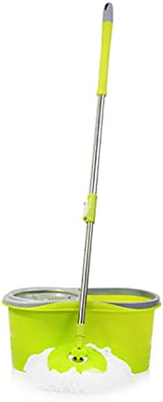 Royalford RF8866 Rocca Spin Easy Mop, Green