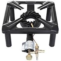 Hockerkocher mit 8.5 kW Leistung, Abmessung 30 x 30 x 15 cm (mit Zündsicherung)