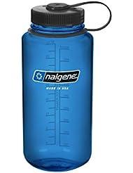Nalgene 1413830 - Bidón con boca ancha de acampada y senderismo, color azul