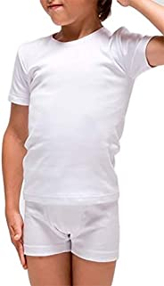 RAPIFE Pack 2 - Camiseta Interior termica Manga Corta niño