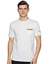 Amazon Brand - House & Shields Men's Printed Regular fit T-Shirt