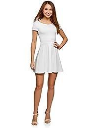 e72aab2eb788 Suchergebnis auf Amazon.de für: jersey kleid weiß - Damen: Bekleidung