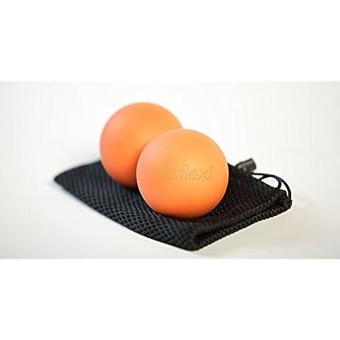 Fisioterapia–Palline massaggianti, la migliore Trigger Point Ball per rilasciare stress, tensioni e rilassare muscoli stretti, nodo. Ideale per schiena, piedi e mani. Free e-book con 8esercizi - Intorno Schiuma Palla