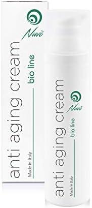 Nuvo' 72% Bava di Lumaca Crema Viso Antirughe BIOLOGICA CERTIFICATA con Acido Ialuronico Olio di Vinaccioli Al