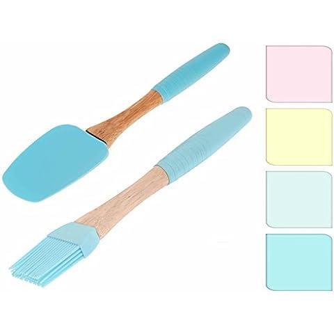 Set di 2Set per pareti e Back In colori pastello–Spatola