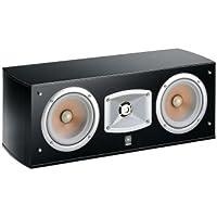 Yamaha NS C 444 Center Speaker 2-Way Centre Speaker Acoustic Suspension Double Woofer Black Piano Lacquer