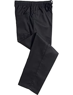 Mcintyre, pantaloni classici in polipropilene da cuoco professionale.