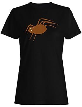 Nuevo Arte De La Araña Asustadiza camiseta de las mujeres i920f