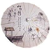 GODHL - Parasol chino de bambú para danza clásica Lotus