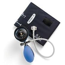 Welch Allyn Durashock DS55 serie Plata Mano Tensiómetro aneroide, azul (ds-5521 –