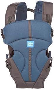 Mee Mee Light Weight Baby Carrier (Lightweight Breathable, Light Navy Blue)