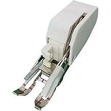 Easy-topbuy Prensatela de Maquinas de Coser Prensatela de Doble Arrastre Enmangue Bajo Accesorio para