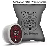 100 Lavazza Point (FAP) capsules compatibles