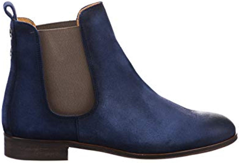 HDC HDC HDC Boots Femme Bleu 95ee0a