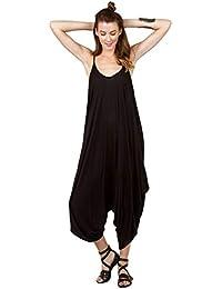 RIDDLED WITH STYLE Vestido Hareems con Cuello en V para Mujer, Todo en uno, para Mujer, Talla Grande