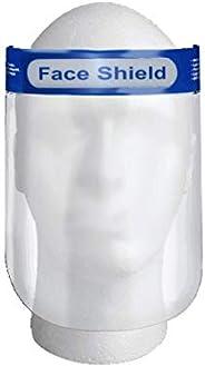 Glory Mom Reusable Safety Face Shield, Anti-fog Full Face Shield, Universal Face Protective Visor for Eye Head