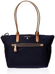 Michael Kors Women's Medium Kelsey Zip Nylon Top-Handle Bag