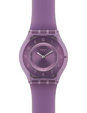 Swatch Damen-Armbanduhr Analog Plastik SFV107