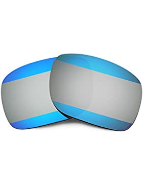 Hkuco Plus Mens Replacement Lenses For Oakley Holbrook Sunglasses Blue And Titanium Color£¨1 Pair Polarized