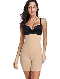 5852343ede9 Joyshaper Tummy Control Thigh Slimmer Body Shaper for Women High Waist  Knickers Slimming Butt Lifter Boyshorts