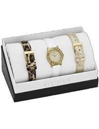 Guess Damen-Armbanduhr Analog Quarz Leder W13103L1