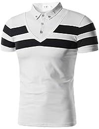 Celucke Basic Polohemd Poloshirt Herren Einfarbig Kurzarm Reiner Baumwolle M/änner T Shirt Polohemden Polo Hemd Kurzarmhemd Sweatshirt Herrenhemden Marken Kurzarmshirt