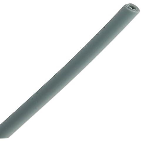 Cordón de caucho hueco 4 mm Gris Oscuro x 50 cm