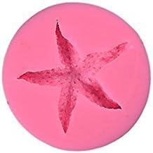 Joyfeel buy DIY Moldes silicona reposteria fondant 3D decoración de pasteles con estrella de mar tamaño