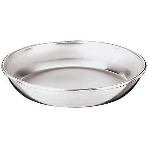 Cocina del Mundo 41591-40 Aluminio Mariscos Bandeja Dia. 15-3/4